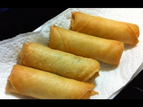 Healthy Recipes: Baked Chinese Chicken Spring Rolls – My Well Being ...