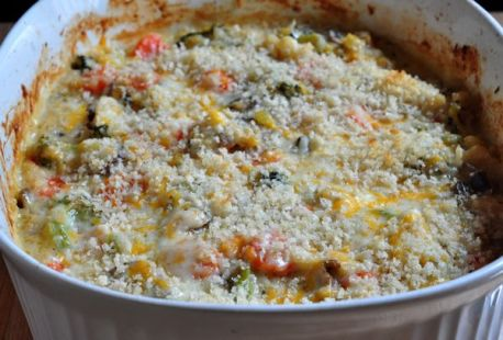 cauliflower quinoa bake recipe