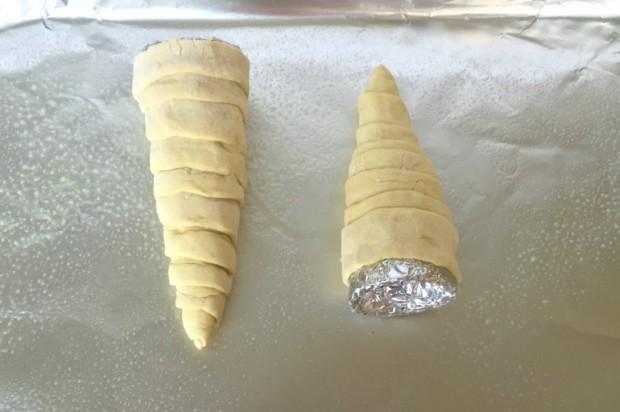 homemade doughnut ice cream cones recipe